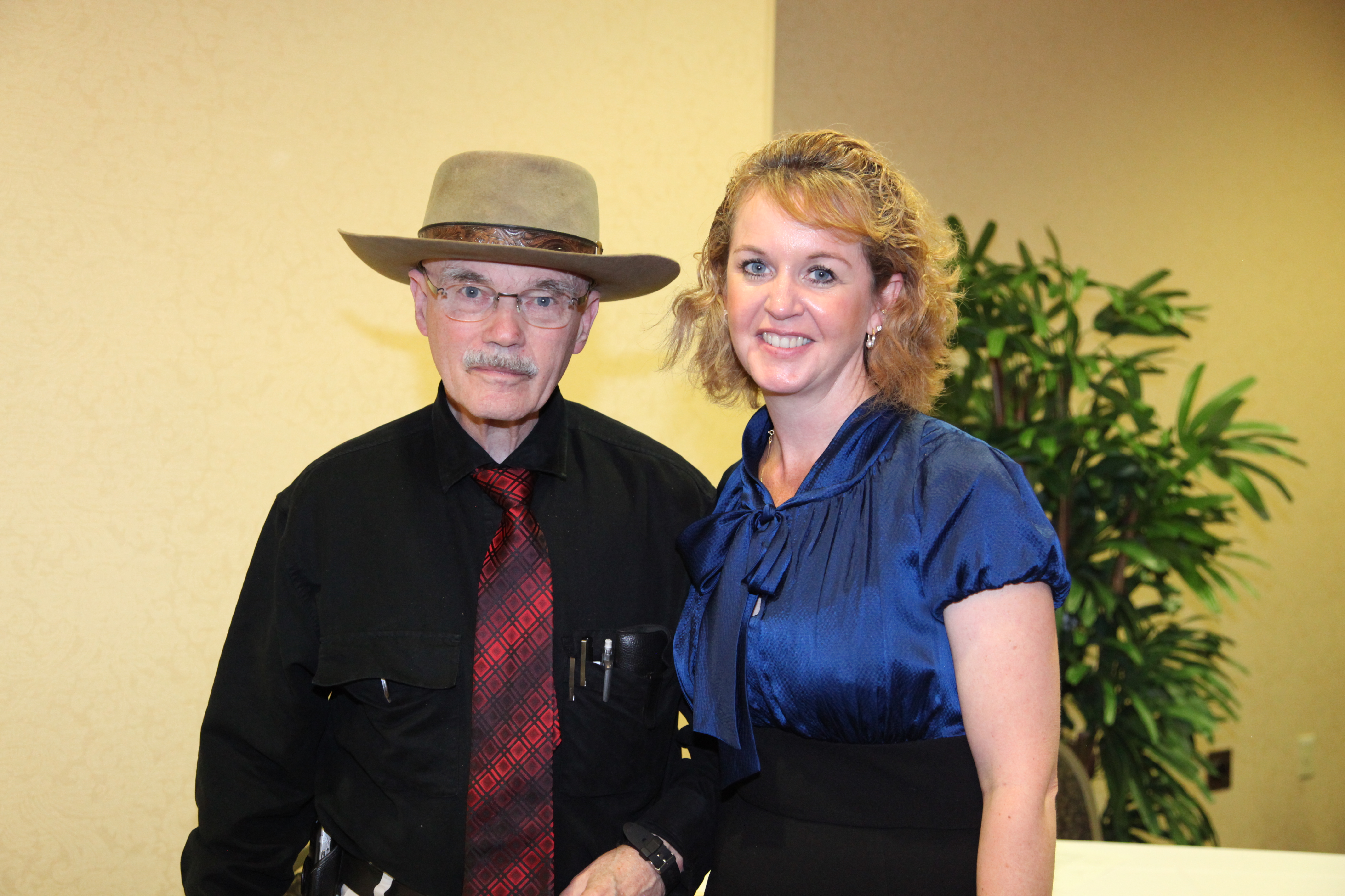 Doc Hall and Deb Jacobson
