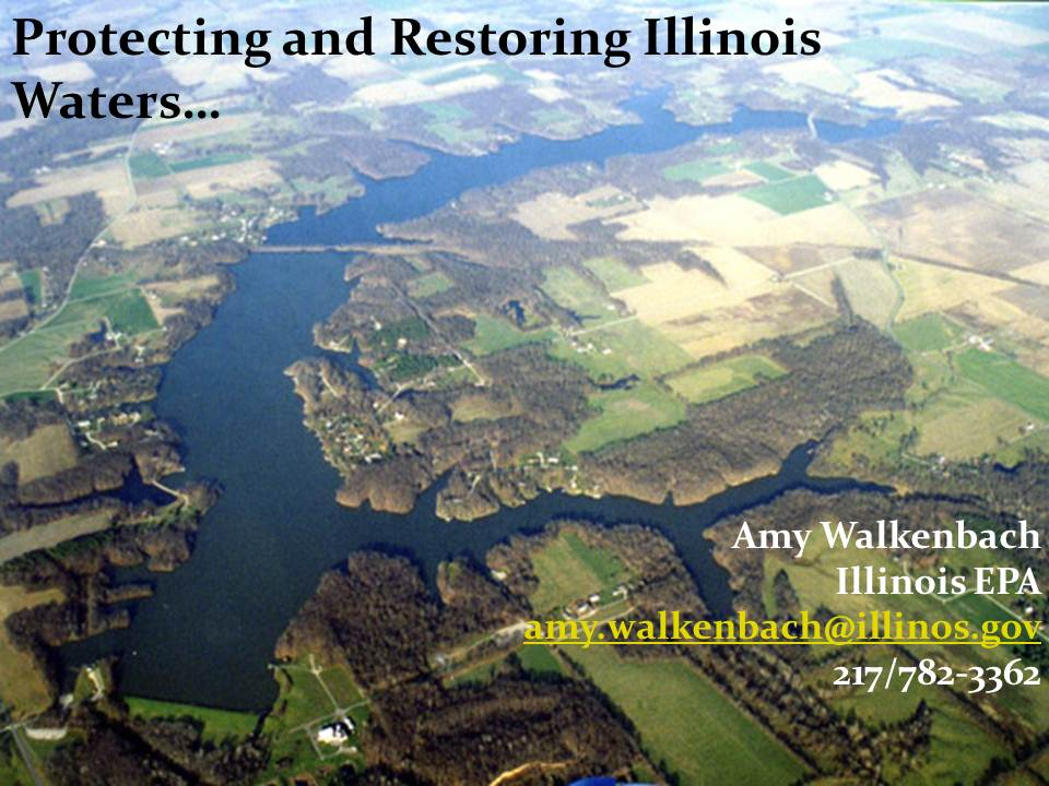 Title Slide: Water Qualidy Protection and Issues in IL