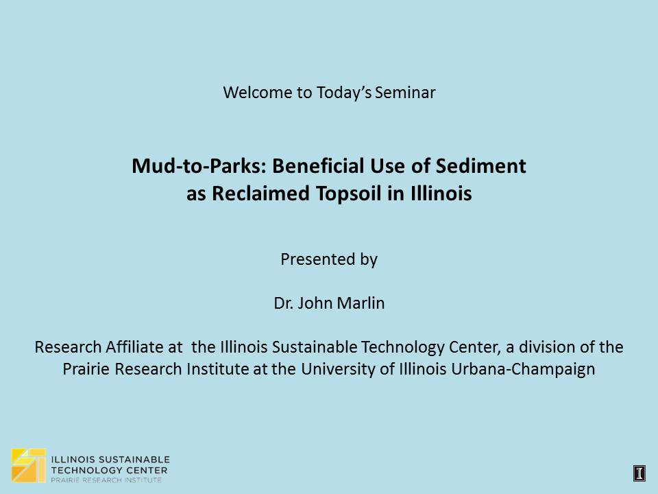 Title Slide: Mud-to-Parks