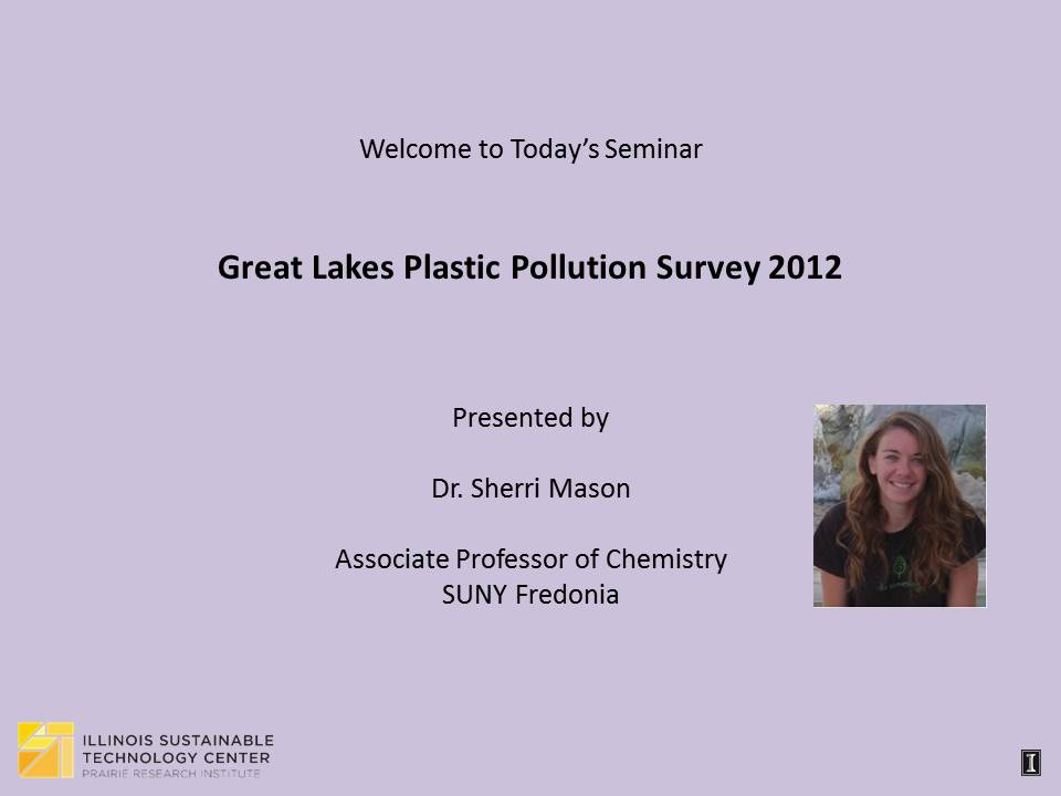 Title Slide: Great Lakes Plastic Pollution