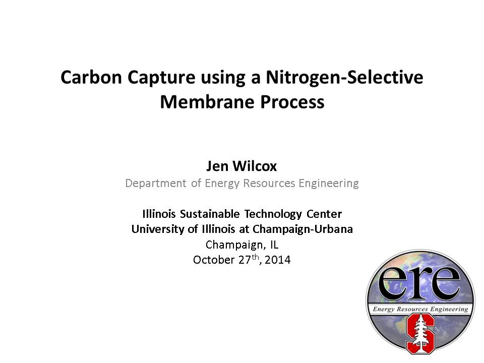 Title Slide: Carbon Capture