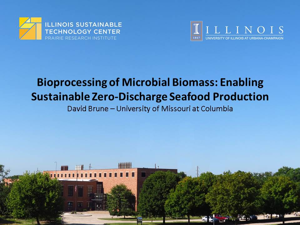 Title Slide: Bioprocessing of Microbial Biomass