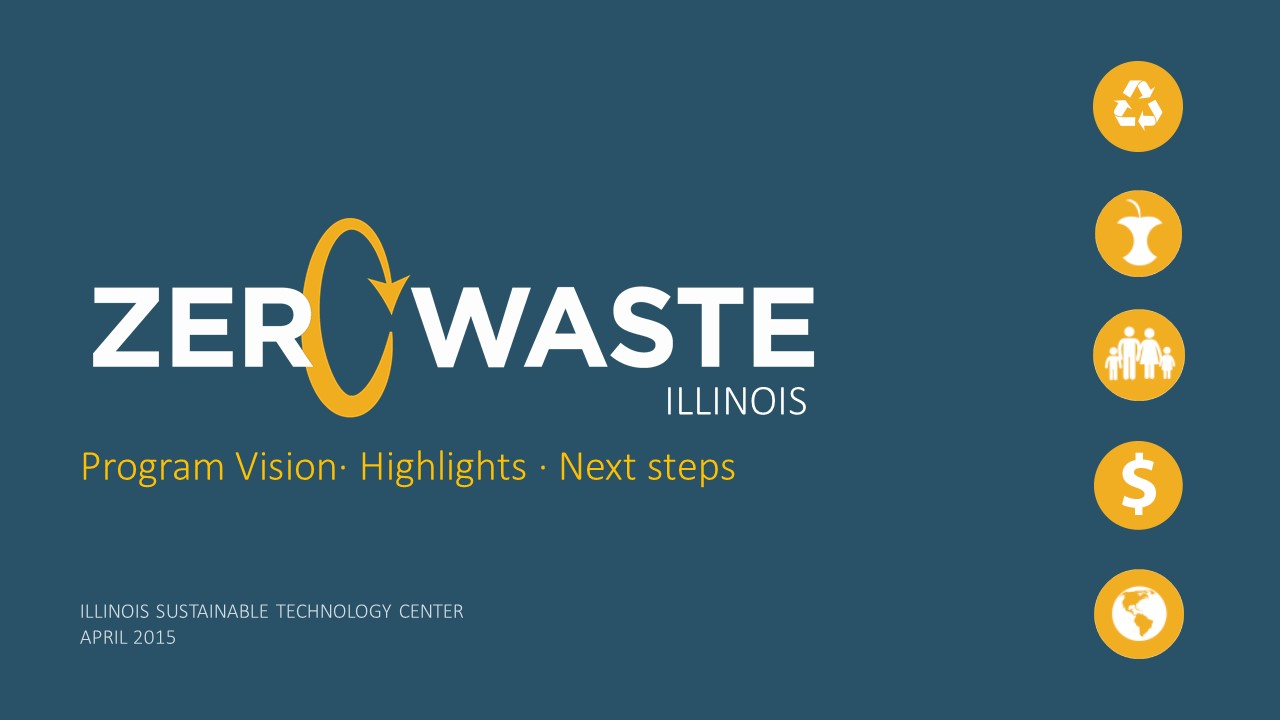 Title Slide: Zero Waste Illinois