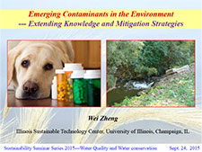 Title Slide: PPCPs extending knowledge and mitigation strategies