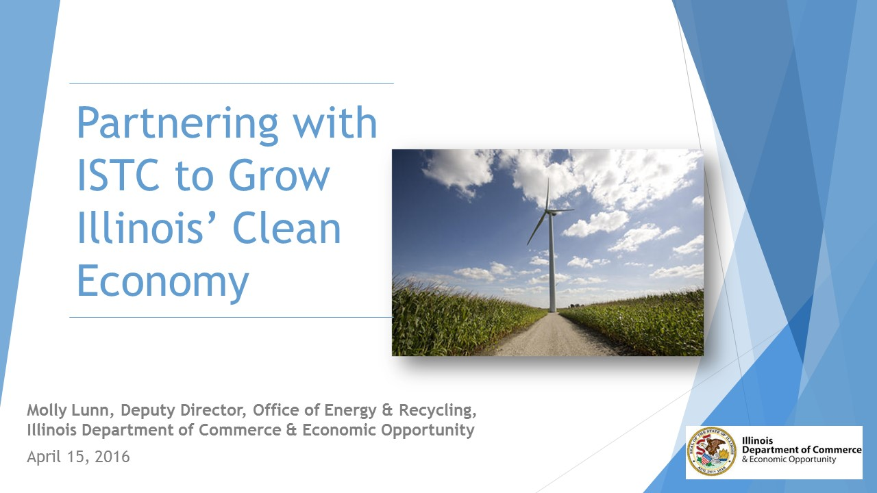 Title Slide: Illinois Energy Roadmap