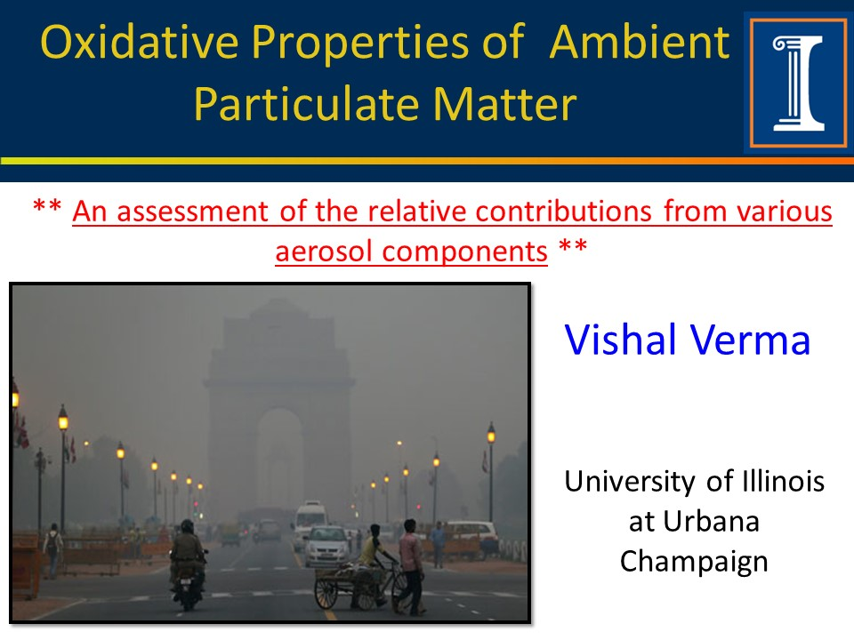 Title slide for Verma