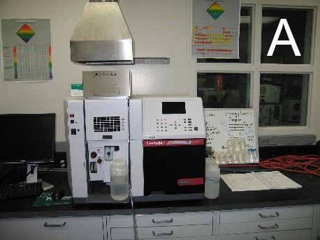 Figure 2A: Varian SpectrAA 55B atomic absorption spectrometer