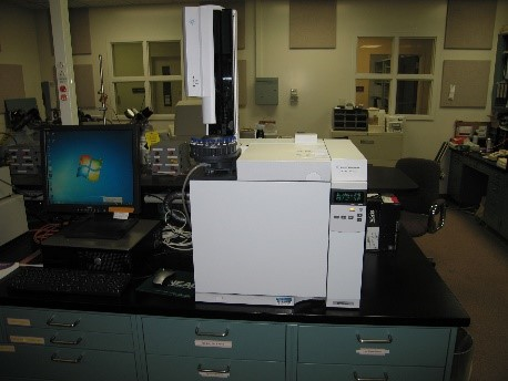 Agilent 7820A GC with FID and NPD