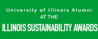 link to article on University of Illinois Alumni at the Sustainability Awards