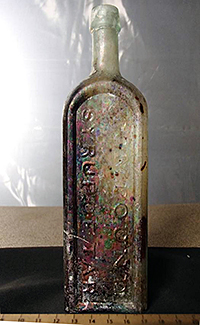 the artifact 'medicine' bottle