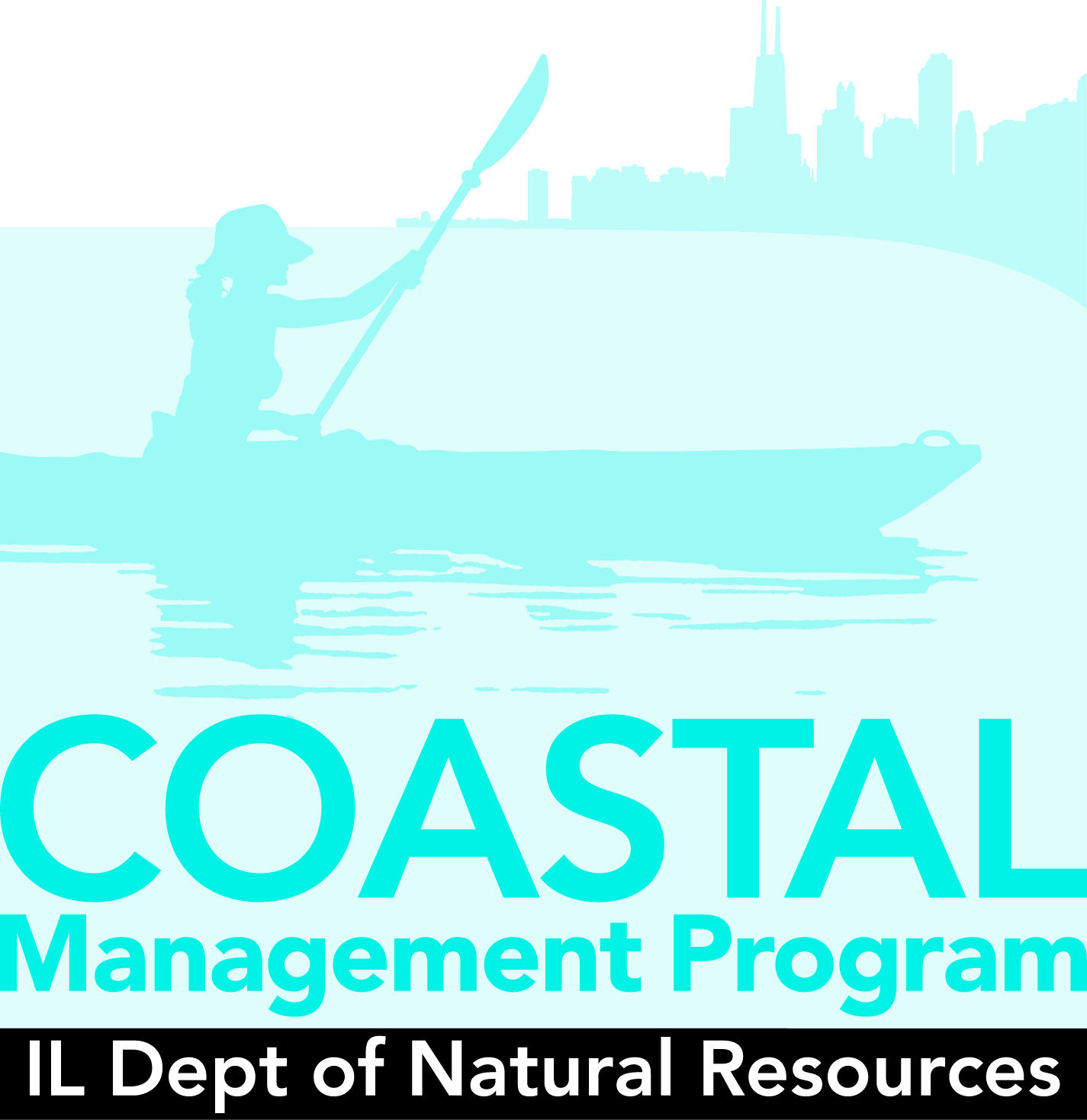 I D N R Coastal Management Program Logo