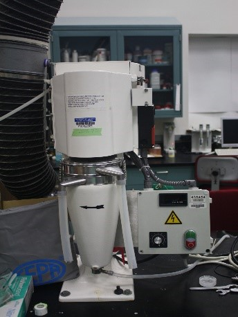 High speed bowl centrifuge