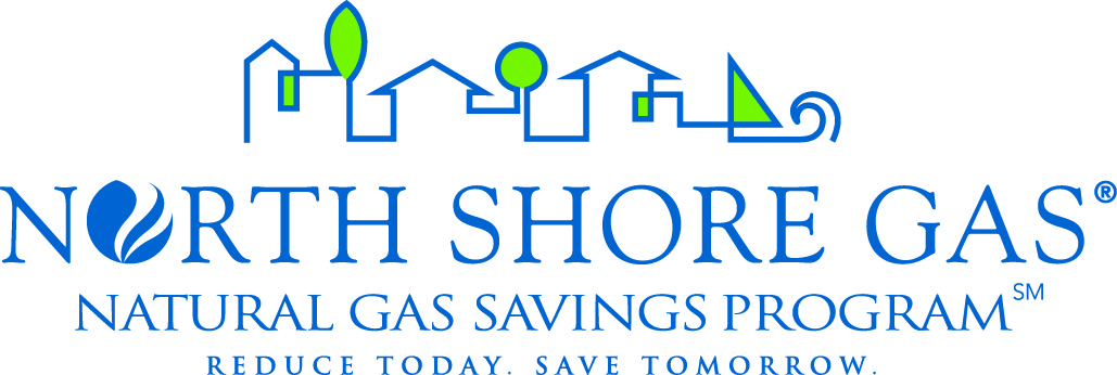 North Shore Gas logo and link