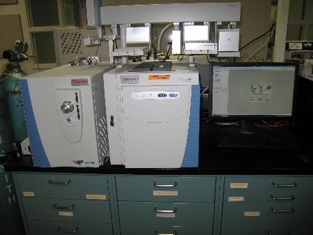 Thermo Trace 1300 GC coupled to an ITQ 700 Mass Spectrometer with liquid, headspace, and solid phase microextraction capabilities
