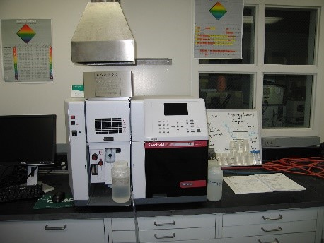 Varian SpectrAA 55B Atomic Absorption Spectrometer