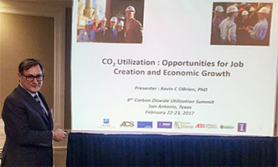 kevin obrien discusses carbon utilization at texas conference