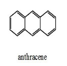 anthracene - three benzene rings in a straignt line