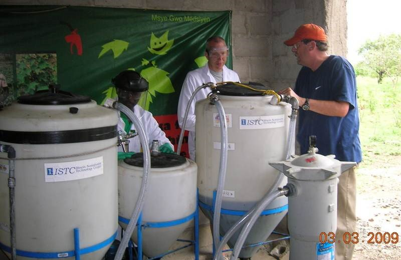First biodiesel pilot plant in Haiti