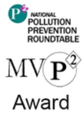 National Pollution Prevention Roundtable M V P 2 award