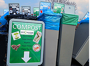 ISTC's Zero Waste program is active on it's own campus